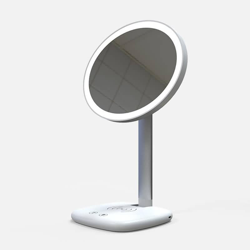 3IN1 折り畳式 15W ワイヤレス充電器 LED照明 多機種対応 QI急速充電器 スマホスタンド可能