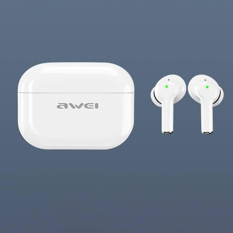 TWS ワイヤレスイヤホン Awei ANC TA1 完全ワイヤレスイヤホン 320mAh バッテリー充電ケース自動 ペアリング 左右分離型 Bluetooth5.0対応
