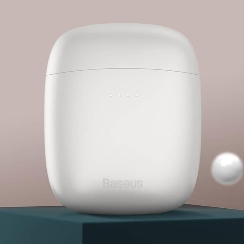 ワイヤレスイヤホン BASEUS TWS W04Pro 完全ワイヤレスイヤホン 400mAh バッテリー充電ケース自動 ペアリング 左右分離型 Bluetooth5.0対応