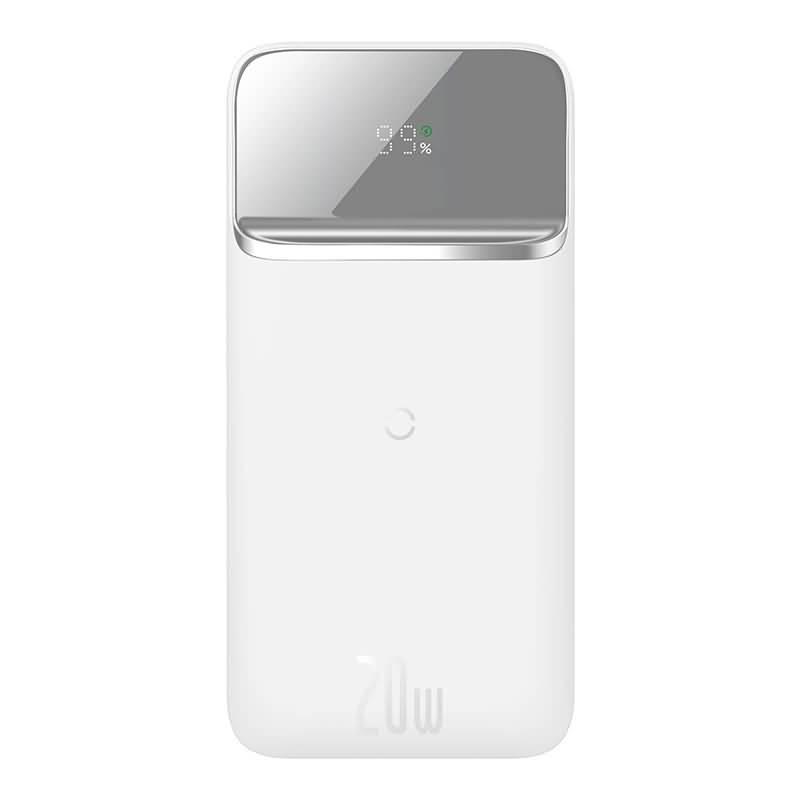 BASEUS 20Wワイヤレス充電器 10000mAh モバイルバッテリー iPhone12シーリズ magsfe対応 急速充電器 3台同時充電可能