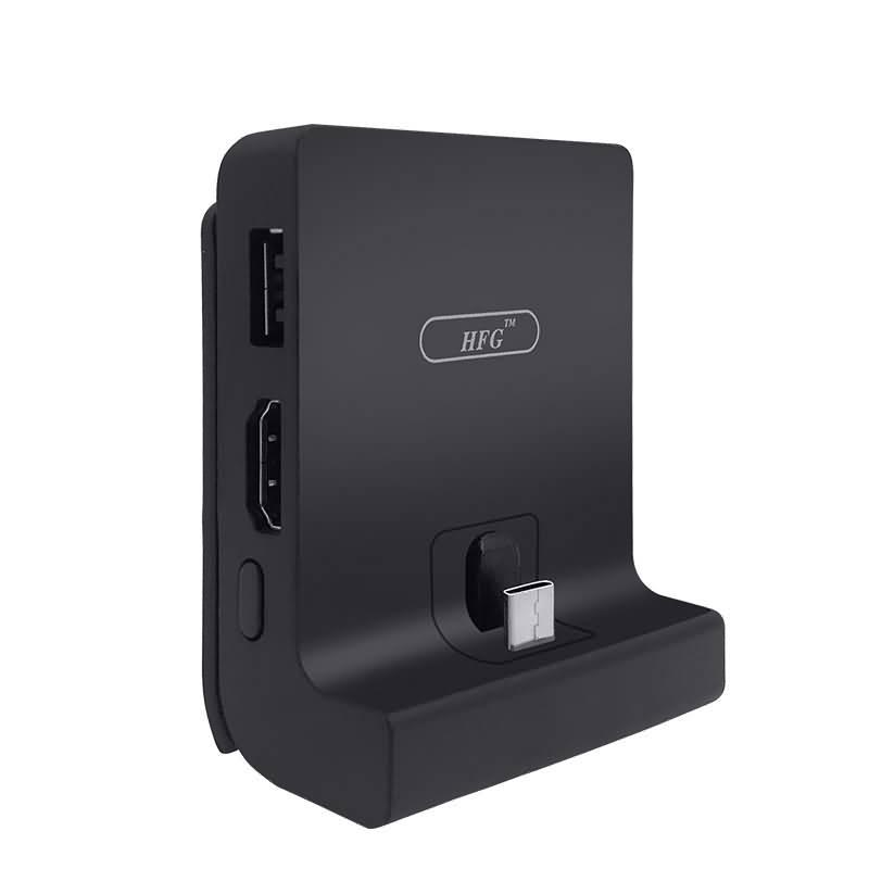 Nintendo Switch /Switch Liteドック 充電スタンド Switch用小型ドック TV出力 30W高出力 PD急速充電
