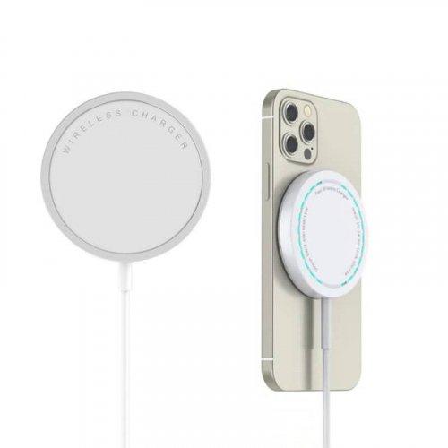 iPhone 12 シリーズ対応 急速充電15Wのマグネット充電器 magsafe充電器 PD 15W 快速充電器 PD/QC対応急速充電 15W急速充電