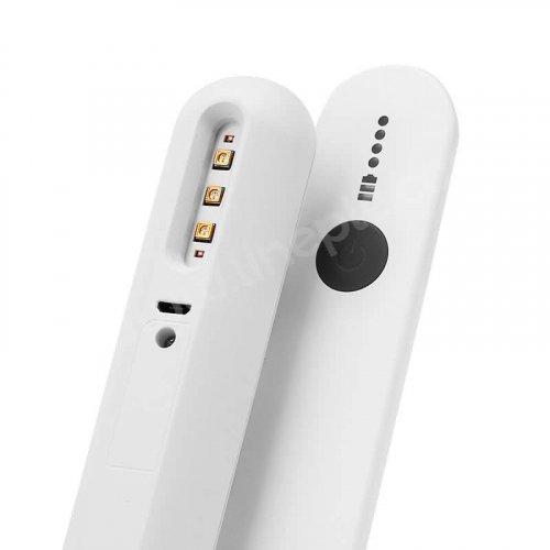 除菌ライト 除菌器 マスク除菌 携帯充電式UV除菌器 緊急照明可能 99%細菌消滅 USB給電式