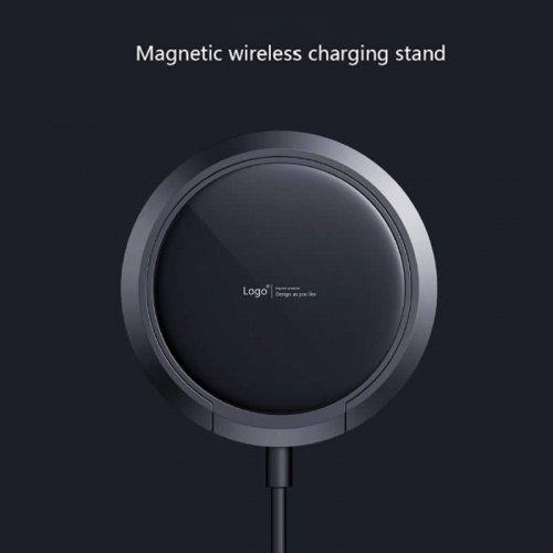 iphone12 ワイヤレス充電器 スタンド機能搭載MagSafe充電器