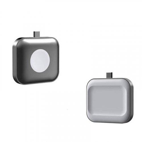 Apple Watch SE/Watch Series 6/5/4/3/2/1 ワイヤレス充電器 アップルウォッチ 充電器 ストラップ付き 持ち運びやすい 急速充電用 対応 USB式マグネット充電器 2.5急速充電 Apple Watch USB充電器 マグネット充電 USBポート