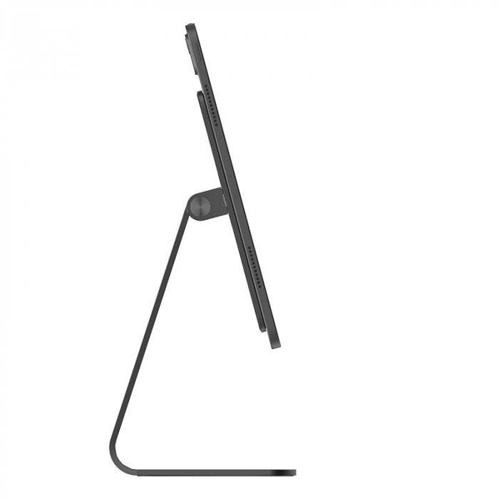 iPadスタンド タブレット 強力磁気スタンド アルミ合金製 マグネットタブレット置き台 タプレット用スタンド