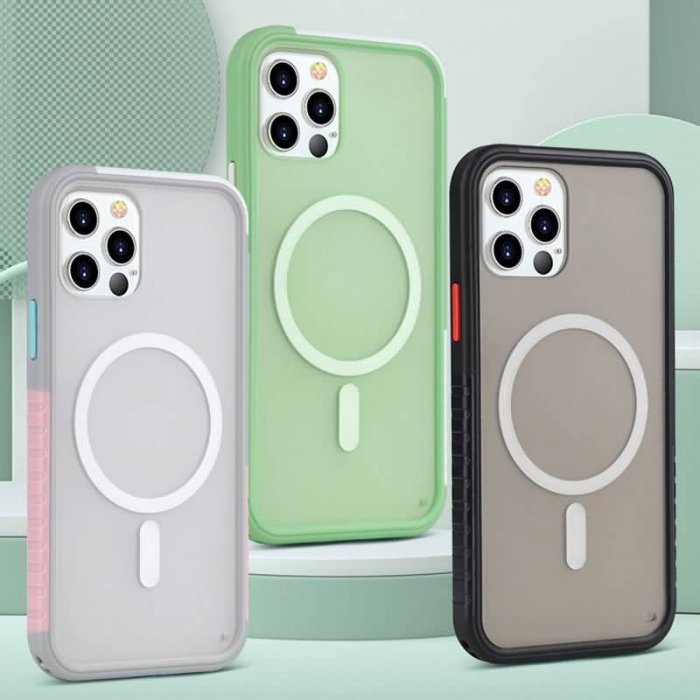 iPhone13/iPhone13 Pro 2in1 PC+TPUケース Magsafe対応ケース iPhone13 Pro max TPUケース