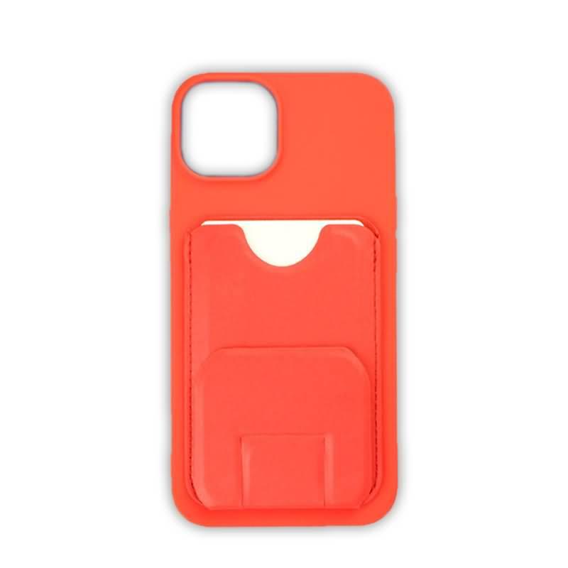 iPhone13/iPhone 13 Pro PUレザー ケース スタンド機能 PU背面型ケース Magsafe対応ケース カード収納可能