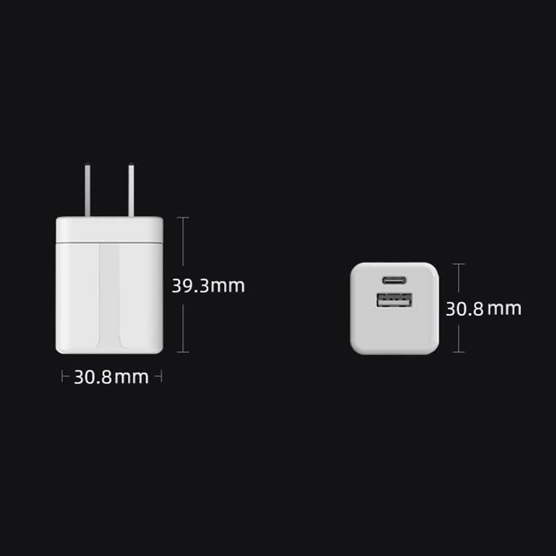 PD対応 35W USB-C 急速充電器 2口 急速充電器 日本PSE認証済 折畳式プラグ GaN 窒化ガリウム採用 PD35W USB-C タイプC 折畳式 PD急速充電